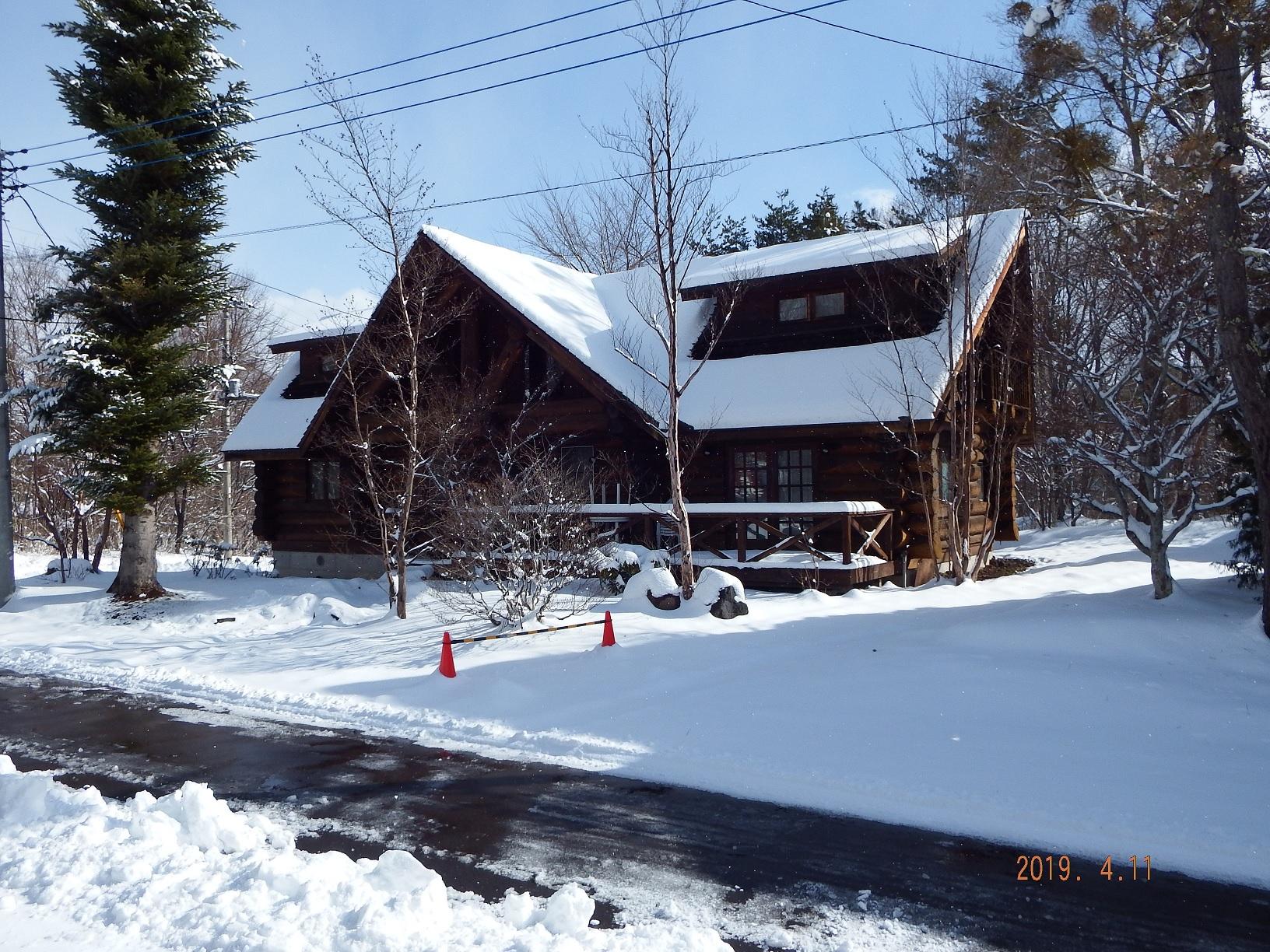 季節外れの大雪